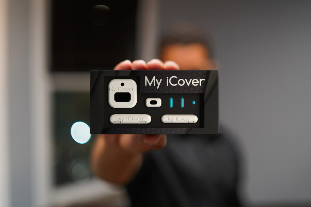 My iCover Accessory Kit - White with Blue